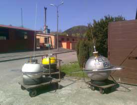 Buoys at IBWPAN