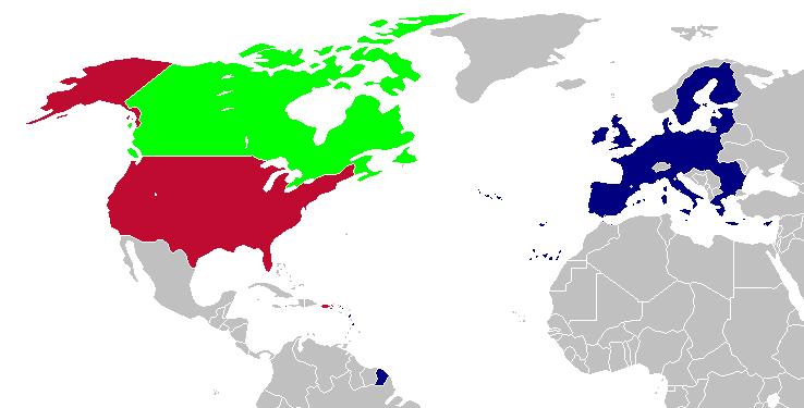 US Canada EU 2007