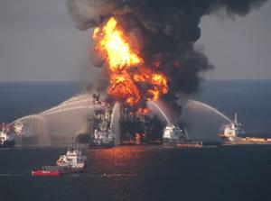 Deepwater Horizon (Courtesy of U.S. Coast)