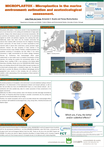 MICROPLASTOX - Microplastics in the marine environment: estimation and ecotoxicological assessment.