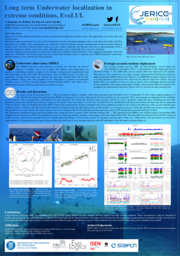 Long term Underwater localization in extreme conditions, EvoLUL